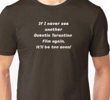 Quentin Tarantino movies Unisex T-Shirt
