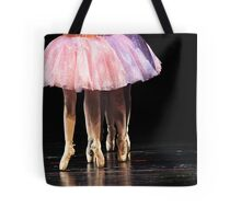 In Line They Dance Tote Bag