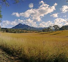 Mt Barney Panorama by Kym Howard