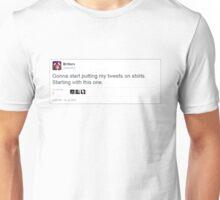 Tweets on Shirts Unisex T-Shirt