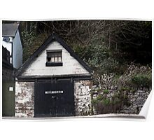 Matlock Bath - Old Garage Poster