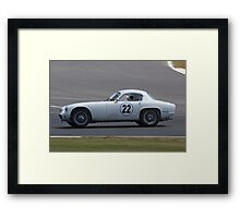 1961 Lotus Elite Framed Print