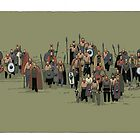 german warriors by David  Kennett