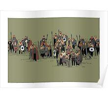 german warriors Poster