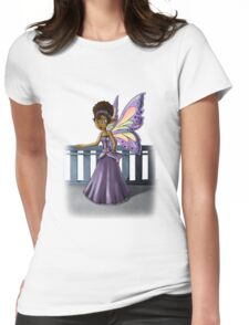 Fairy Realm Womens Fitted T-Shirt