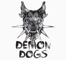 Demon Dogs  One Piece - Short Sleeve