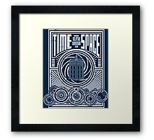 Time and Space Framed Print