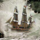HMS Bounty . by Irene  Burdell