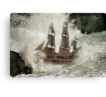 HMS Bounty . Canvas Print