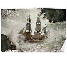 HMS Bounty . Poster