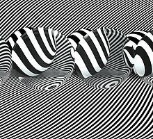 b/w lines by mxsara