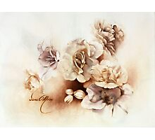 """""""Bouquet ll"""" Oil on Canvas Photographic Print"""