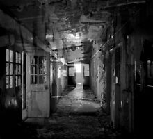 Corridor After Corridor After Corridor ~ Harperbury by Josephine Pugh