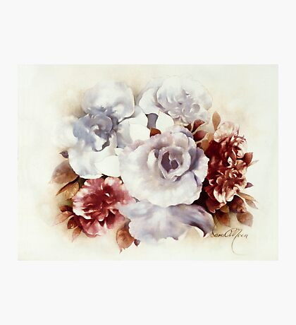 """Bouquet lV"" Oil on Canvas Photographic Print"