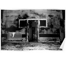 Fire Exit ~ Harperbury Poster