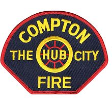 Compton Fire by lawrencebaird