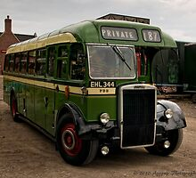 West Riding Leyland Tiger  by David J Knight