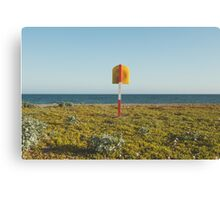 Lifering at Carnsore Point, Wexford, Ireland Canvas Print