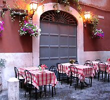 Backstreet Restaurant - Rome, Italy by hjaynefoster