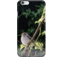 Chiffchaff iPhone Case/Skin