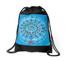 Jungfrau Horoskop Mandala Produkte Drawstring Bag