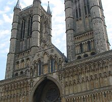 The Lincoln Cathedral by peter vine