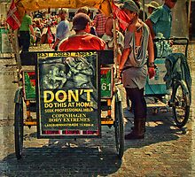 Street Life - DON'T do Home Piercing by © Kira Bodensted