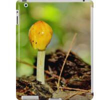 Yellow Cap iPad Case/Skin