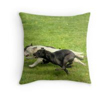 And It's Tarn By A Nose.... Throw Pillow