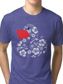 Hula Ducky Tri-blend T-Shirt
