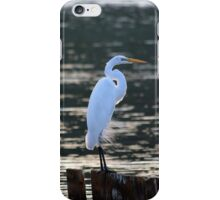 Ardea Alba - Great Egret | Center Moriches, New York iPhone Case/Skin
