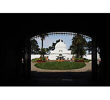 Conservatory of Flowers Photographic Print