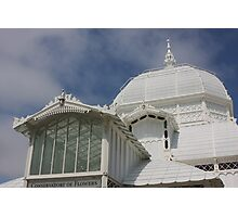 Conservatory of Flowers (detail) Photographic Print