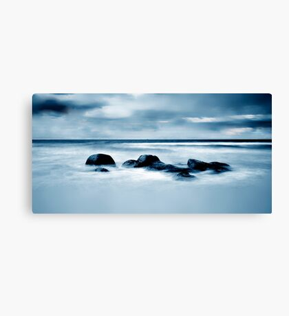 Beer Barrel Beach........Tasmania Canvas Print