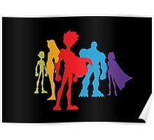 Teen Titans poster wall art Poster