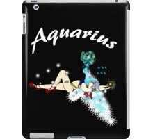 AQUARIUS...modernized Zodiac symbol! iPad Case/Skin