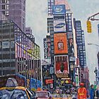 Times Square, New York by feminestudio