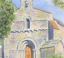 Chapelle des Templiers, Malleyrand, France by ian osborne