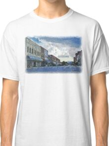 Street Banner in Historic Downtown Franklin, NC Classic T-Shirt