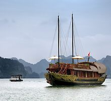 Vietnam: The Junk by Kasia-D