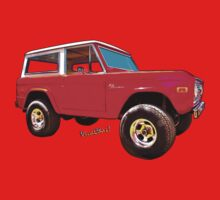 Ford Bronco Classic from VivaChas Hot Rod Art One Piece - Long Sleeve