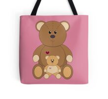 TWO TEDDY BEARS #3 Tote Bag