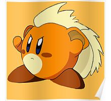 Kirby Growlithe Poster