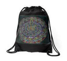 Skorpion Horoskop Mandala Produkte Drawstring Bag