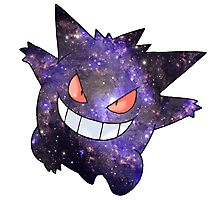 Gengar - Pokemon Photographic Print