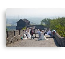 Weddings on the Wall Canvas Print
