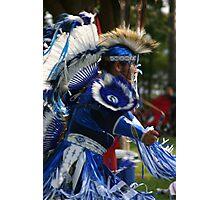 Blue Dancer Photographic Print