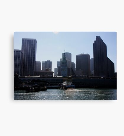 San Francisco Ferry Building Canvas Print