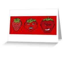 Rawberries Greeting Card