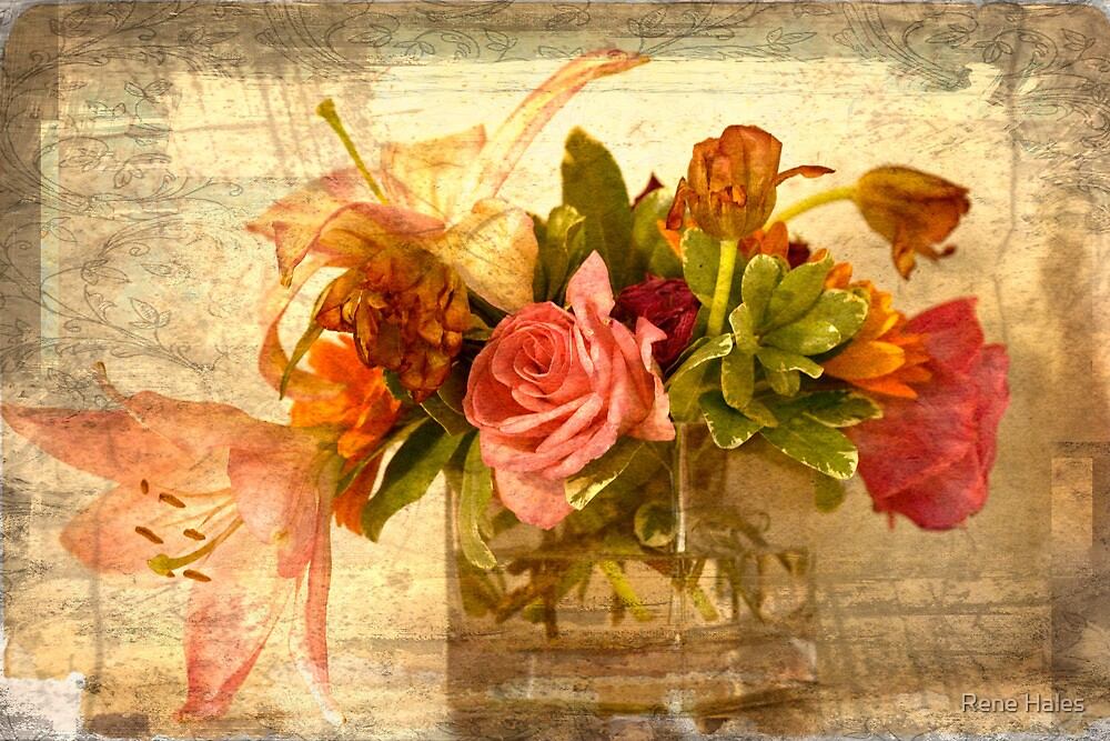 Bouquet: Gift from a Friend by Rene Hales